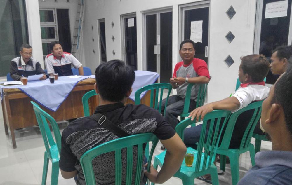 Rapat Persiapan Rembug Warga Tahunan (RWT) LKM Sekar Tanjung Desa Petanjungan